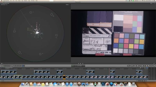 IR 18ND Formatt--Red Epic Dragon vs Red Epic MX sensor test