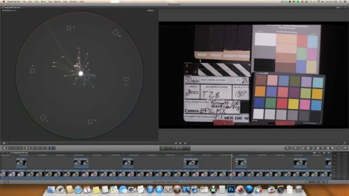 IR 18ND Formatt 715 Schneider--Red Epic Dragon vs Red Epic MX sensor test