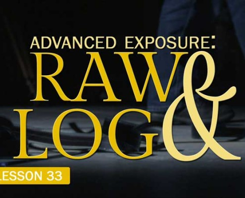 Advanced Exposure: Raw & Log (Camera Lesson 33)