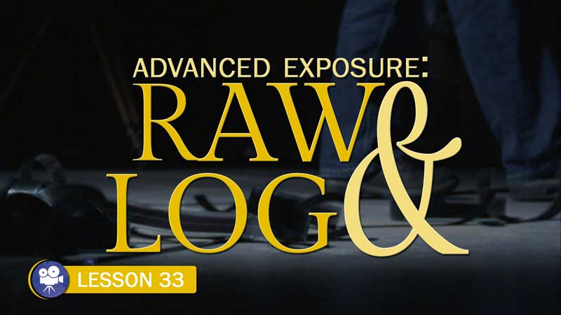 Advanced Exposure: Raw & Log