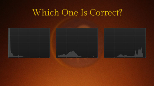Correct Histogram?- (Camera Lesson 29) (VIDEO SCREENGRAB)