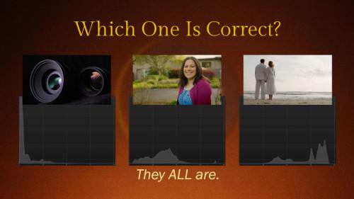 Correct Histogram? All!- (Camera Lesson 29) (VIDEO SCREENGRAB)