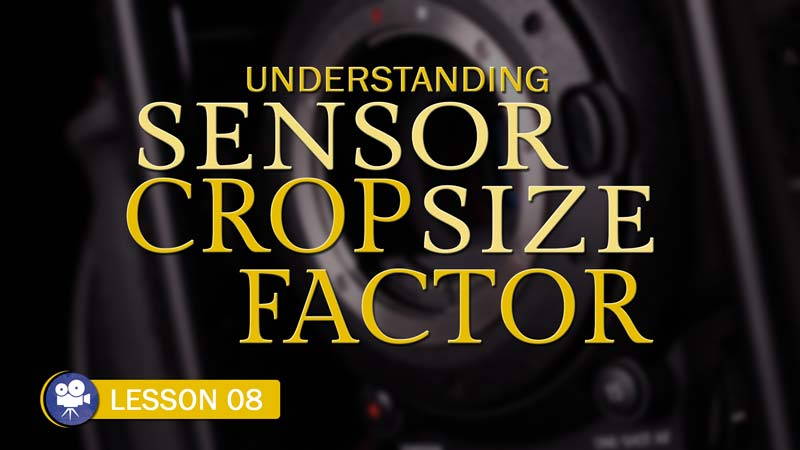 Sensor Size & Crop Factor (Camera Lesson 08)