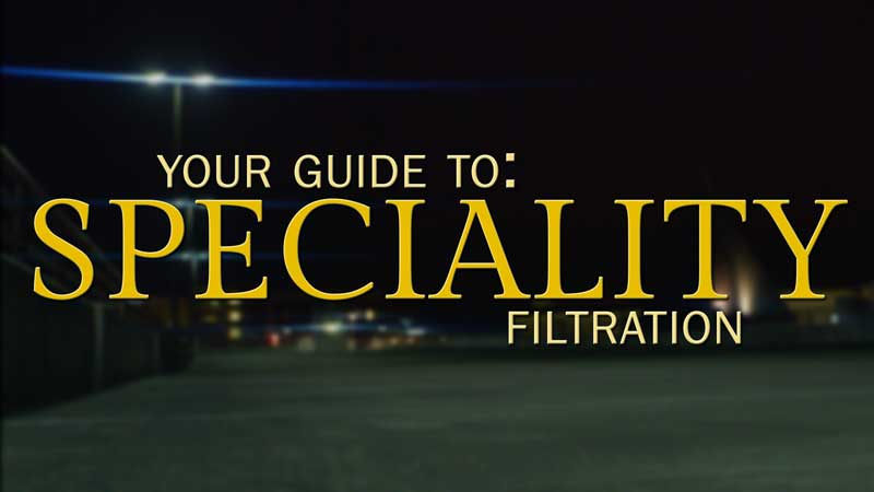 Specialty Filtration for Cinema