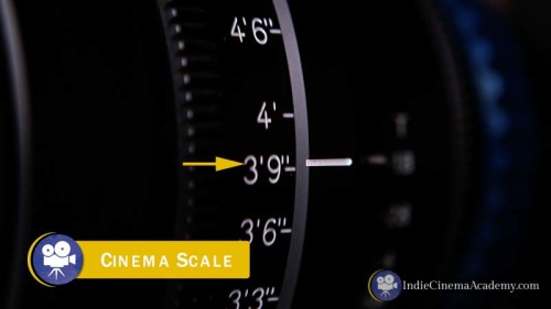 Cinema Lens Focus Scale (Camera Lesson 09)