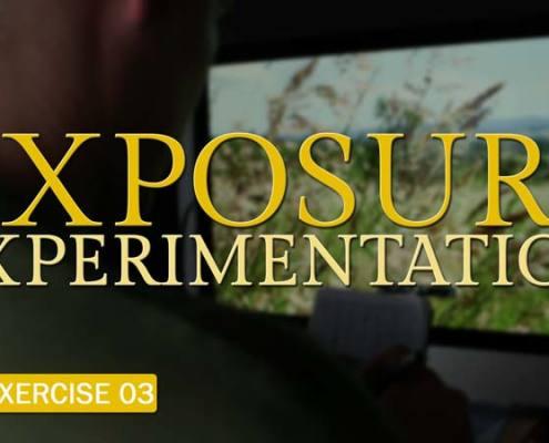 Camera Exercise #3: Exposure Experimentation