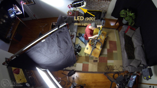 Overhead View with Rim Light (LC101)
