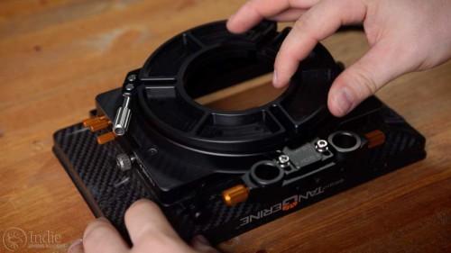 Bright Tangerine Misfit: Step-down Rings (AR008)