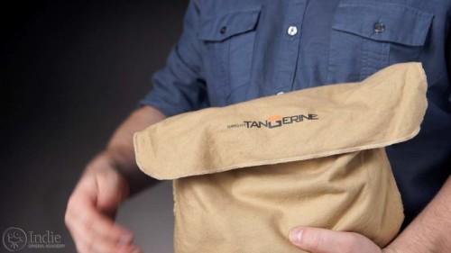 Bright Tangerine Misfit: Cloth Bag (AR008)