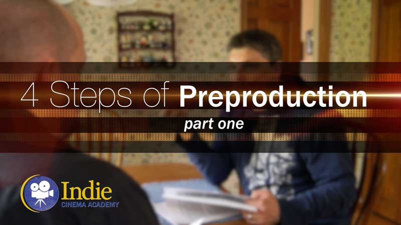 Four Steps of Preproduction: Part One (Cinematic Lighting Lesson 16)