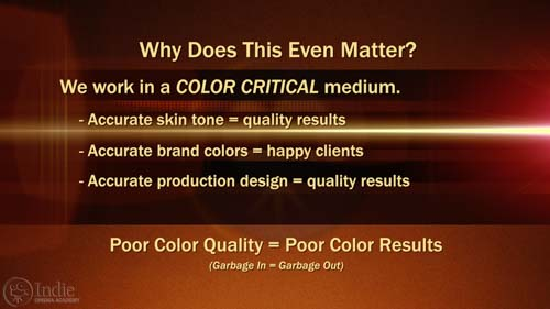 Why Color Matters in Film and Video (AR016)