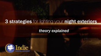 3 Strategies For Lighting Your Night Exteriors (Cinematic Lighting Lesson 14)