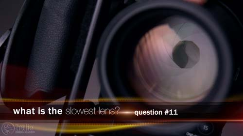 What Is The Slowest Lens? (LC115)