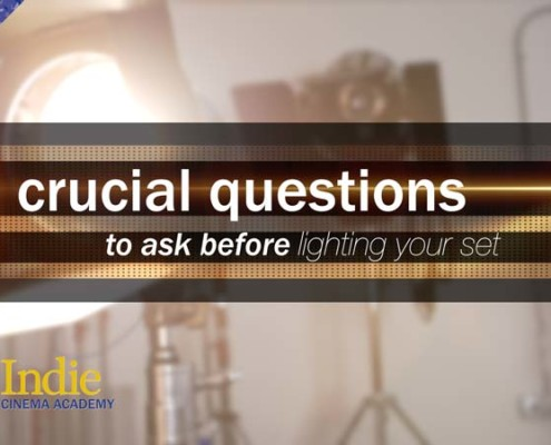 12 Crucial Questions Before Lighting Your Set (Cinematic Lighting Lesson 15)