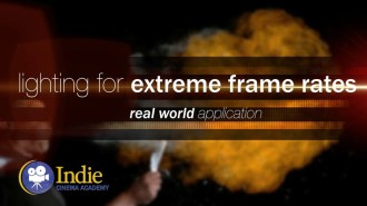Lighting For Extreme Frame Rates (Cinematic Lighting Lesson 21)