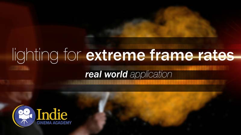 Lighting For Extreme Frame Rates (Cinematic Lighting Lesson 21)