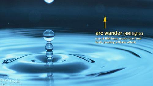Arc Wander With HMI Lights (CS004)
