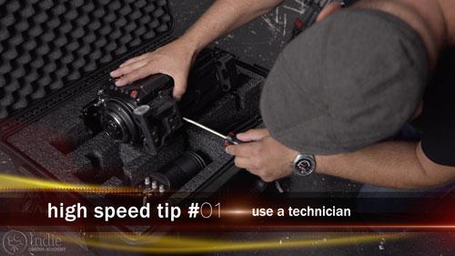 Use a High Speed Technician (CS006)