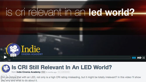 Is CRI Relevant in an LED World?