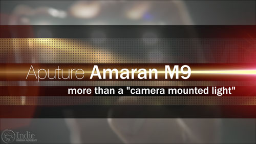 The Aputure Amaran M9 is more than a