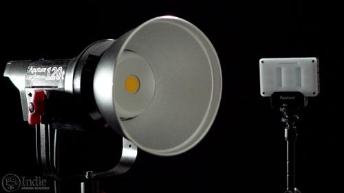 Aputure Light Storm COB 120t and Amaran M9