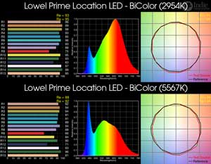 Lowel Prime Location LED - BiColor