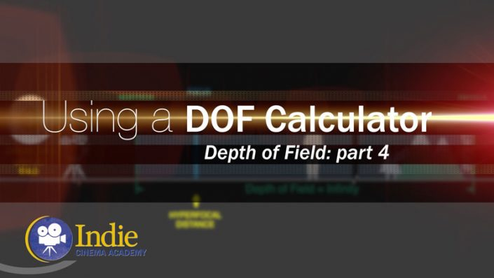 Depth of Field, Part 4: Using a Depth of Field Calculator