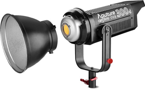 Aputure Light Storm C300d LED reflector