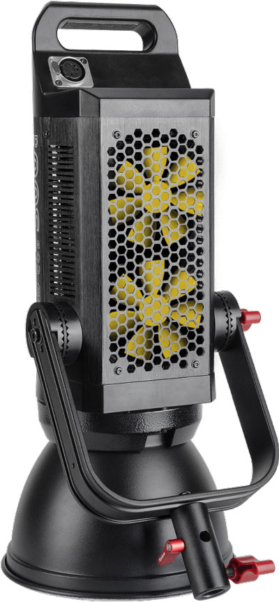 Aputure Light Storm C300d LED fans