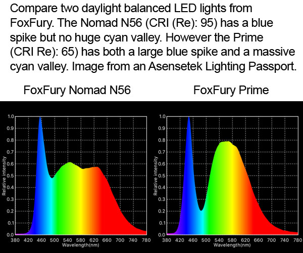 FoxFury comparing Nomad N56 with Prime