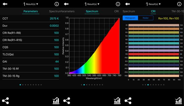 Spectrum Genius Mobile PLUS: Results 1