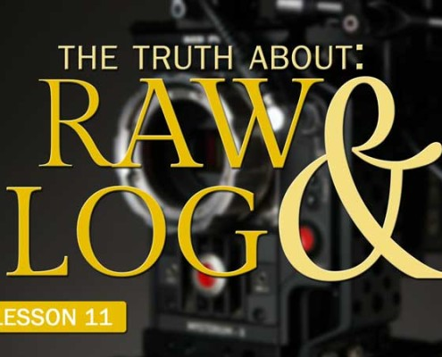 The Truth About RAW & Log (Camera Lesson 11)