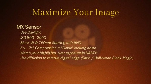 Red Epic MX: Maximize Your Image