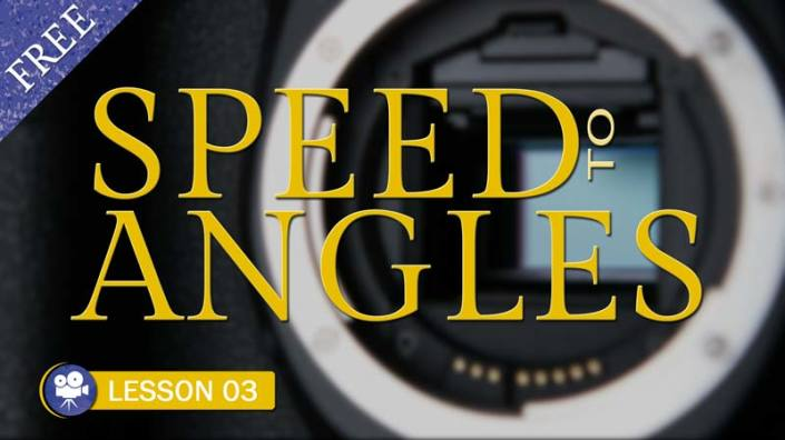 Converting Speed to Angles (Camera Lesson 03)