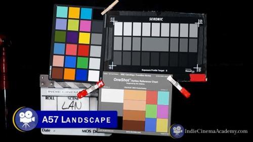 Sony A57 Camera with Landscape profile