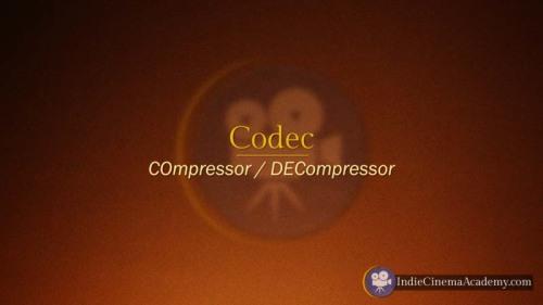 Codec (Camera Lesson 10)