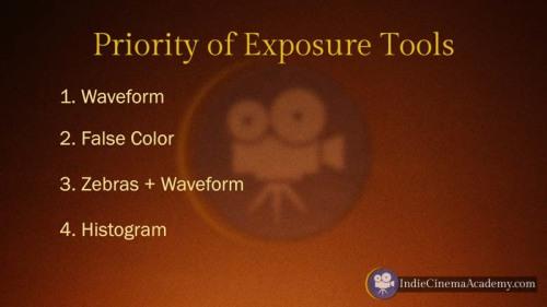 Priority of Exposure Tools (Camera Lesson 28)