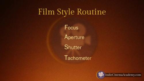 Film Style Routine: FAST (Camera Lesson 35)