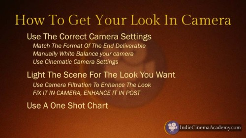How to Get it In Camera (3 Essentials)