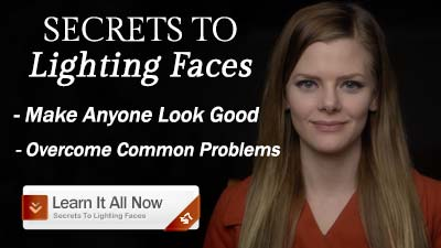 Secrets to Lighting Faces-side banner