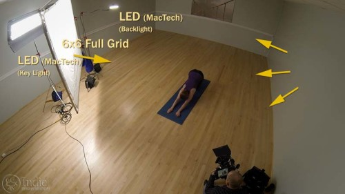 Ambient Light: Wall Bounce from Key Light (LC108)