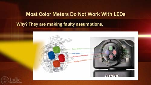 Most Color Meters Don't Work With LED Lights (AR017)