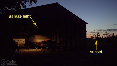 Convincing Night Exteriors Are Shot At Night (LC114)