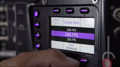 Setting Frame Rate On Phantom Flex 4K (CS002)