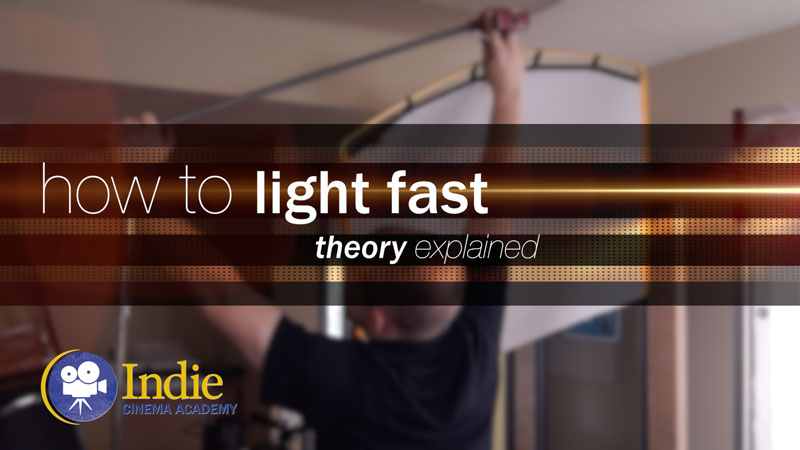 How To Light Quickly (Cinematic Lighting Lesson 19)