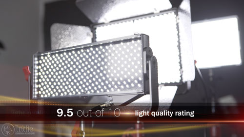 Aputure Light Quality Rating