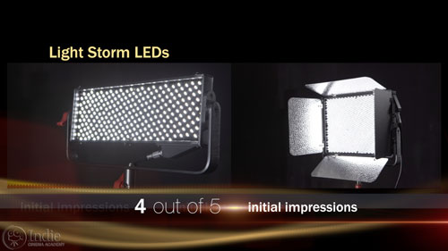 Aputure Light Storm Initial Impressions