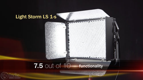 Aputure Light Storm 1s functionality