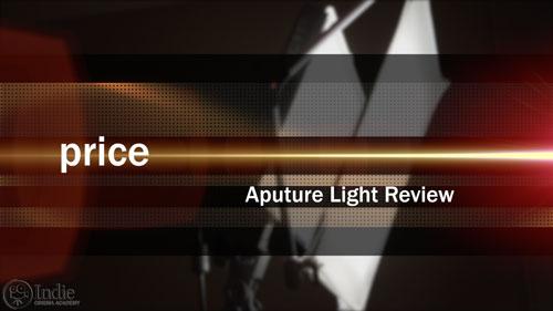 Aputure LED lights price