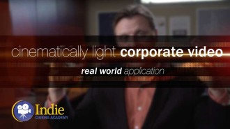 How To Cinematically Light A Corporate Video (Cinematic Lighting Lesson 20)